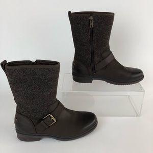 Ugg Australia Boots waterproof 5.5 brown winter
